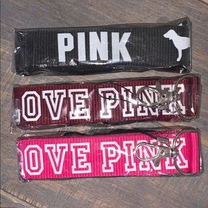 Pink lanyard bundle